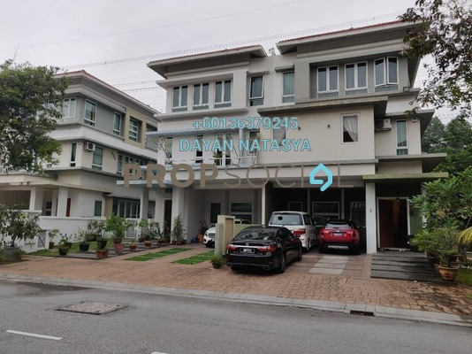 Semi-Detached For Sale in The Rafflesia, Damansara Perdana Freehold Semi Furnished 6R/5B 2.7m