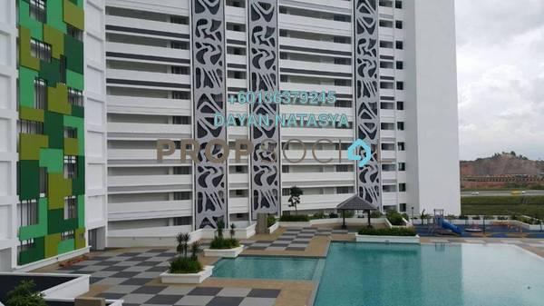Condominium For Rent in V'Residence, Cyberjaya Freehold Unfurnished 4R/3B 2k