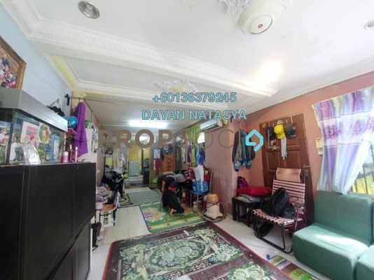 Terrace For Sale in Taman Setapak Jaya, Setapak Freehold Unfurnished 2R/1B 235k