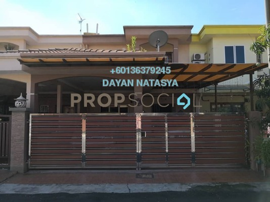 Terrace For Sale in Taman Alam Shah, Klang Freehold Semi Furnished 4R/3B 450k