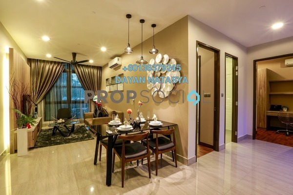 Condominium For Rent in Shaftsbury Putrajaya, Putrajaya Freehold Fully Furnished 2R/1B 2.75k