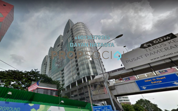 Office For Rent in The Icon, KLCC Freehold Semi Furnished 1R/1B 12.4k