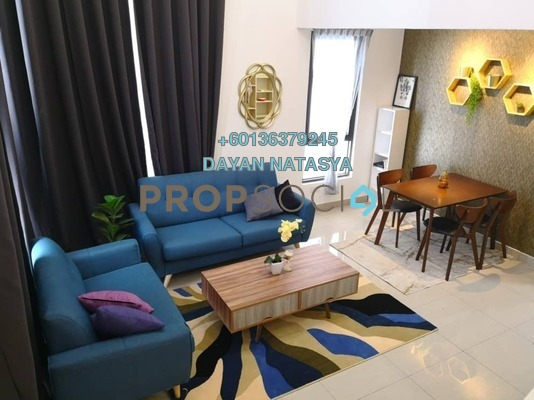 Serviced Residence For Rent in Eclipse Residence @ Pan'gaea, Cyberjaya Freehold Fully Furnished 3R/2B 2.3k
