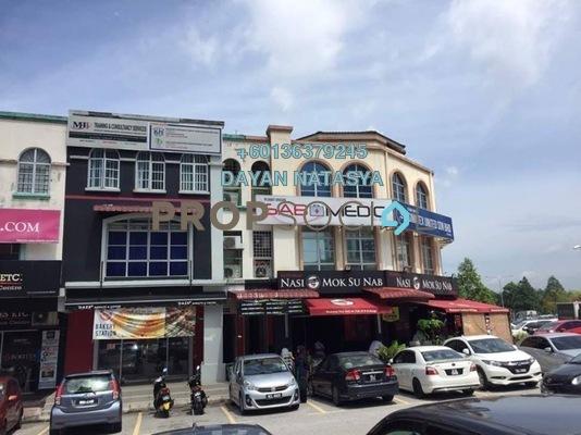Office For Rent in Seksyen 9, Bandar Baru Bangi Freehold Semi Furnished 2R/1B 1.6k