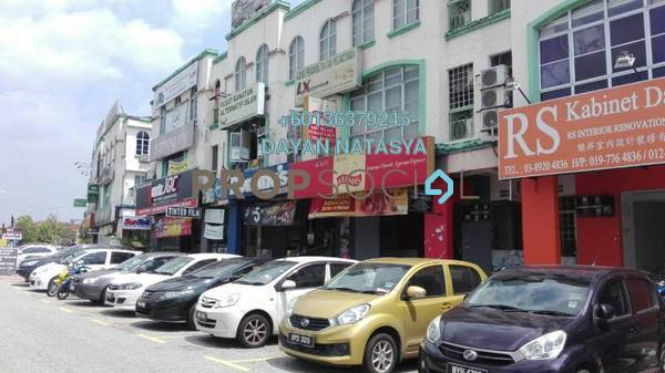 Office For Rent in Seksyen 9, Bandar Baru Bangi Freehold Fully Furnished 2R/1B 2.5k