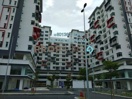 Condominium For Sale in Ehsan Residence, Putra Nilai Freehold Semi Furnished 4R/2B 388k