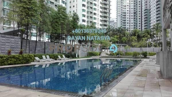 Condominium For Sale in Metropolitan Square, Damansara Perdana Freehold Semi Furnished 2R/2B 480k