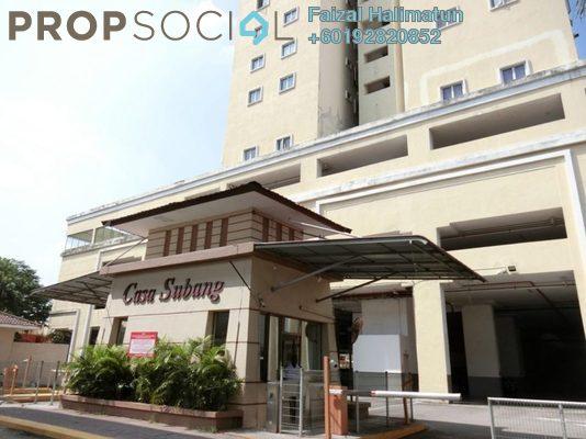 Condominium For Sale in Casa Subang, UEP Subang Jaya Freehold Semi Furnished 4R/2B 360k