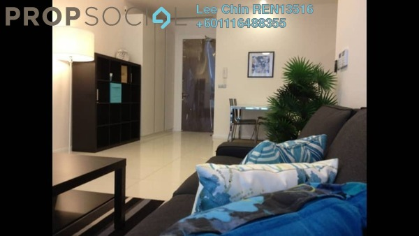 SoHo/Studio For Sale in M Suites, Ampang Hilir Freehold Fully Furnished 0R/1B 488k