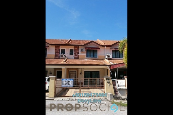 Terrace For Rent in Bandar Seri Botani, Ipoh Freehold Semi Furnished 4R/3B 1.3k