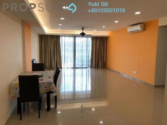 Condominium For Rent in Damaipuri Condominium, Ipoh Freehold Semi Furnished 3R/3B 1.6k