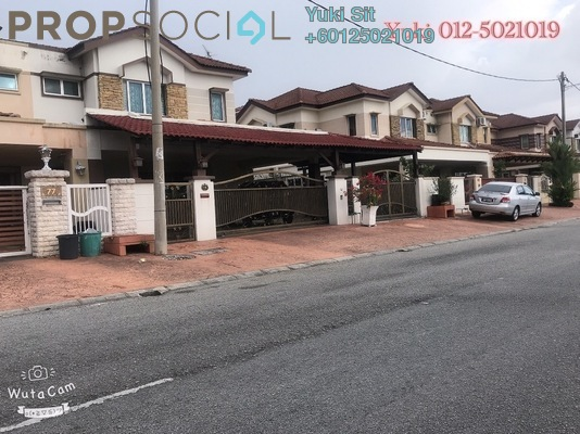 Semi-Detached For Sale in Taman Song Choon, Ipoh Leasehold Semi Furnished 4R/3B 600k
