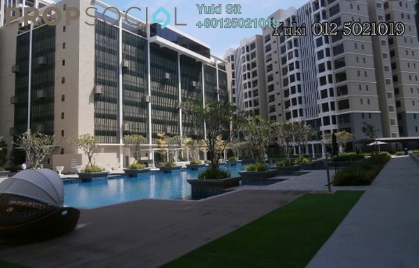 Condominium For Sale in Upper East @ Tiger Lane, Ipoh Freehold Semi Furnished 3R/2B 460k