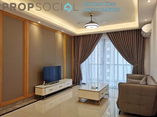Serviced Residence For Rent in R&F Princess Cove, Johor Bahru Freehold Fully Furnished 3R/2B 1.8k