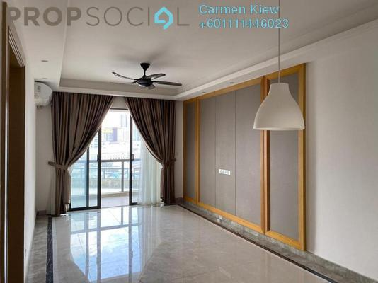 Serviced Residence For Rent in R&F Princess Cove, Johor Bahru Freehold Semi Furnished 2R/1B 1.2k