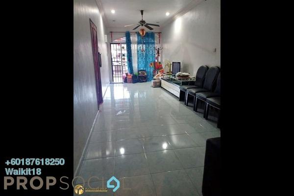 Terrace For Sale in Taman Bukit Indah, Bukit Indah Freehold Semi Furnished 3R/2B 460k