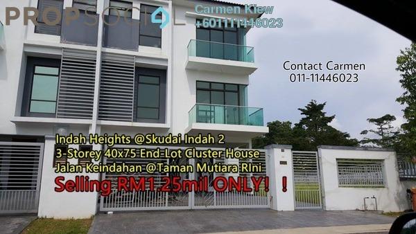 Terrace For Sale in Taman Mutiara Rini, Skudai Freehold Unfurnished 5R/5B 1.25m