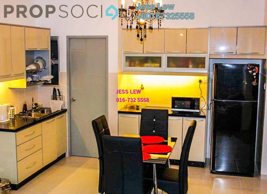 Condominium For Rent in Suria Jelatek Residence, Ampang Hilir Freehold Semi Furnished 3R/2B 1.6k