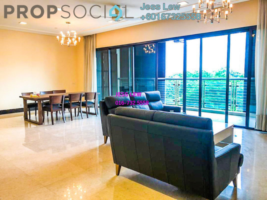 Condominium For Rent in The Binjai On The Park, KLCC Freehold Fully Furnished 3R/5B 15k