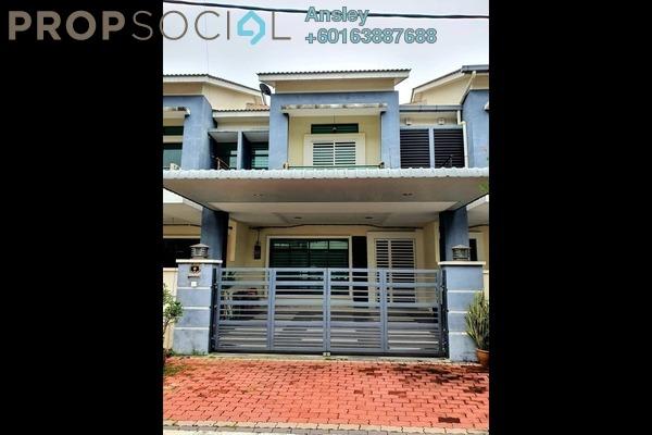 Terrace For Sale in Taman Lapangan Hartamas, Ipoh Freehold Fully Furnished 4R/4B 450k