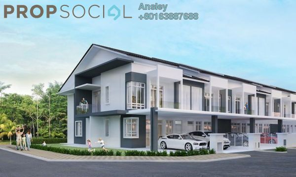 Terrace For Sale in Proton City, Tanjung Malim Freehold Unfurnished 3R/3B 430k