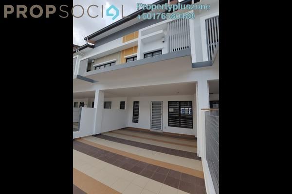 Terrace For Rent in Setia Permai 2, Setia Alam Freehold Unfurnished 3R/3B 1.5k