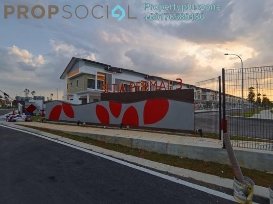 Terrace For Rent in Setia Impian, Setia Alam Freehold Semi Furnished 3R/3B 1.5k
