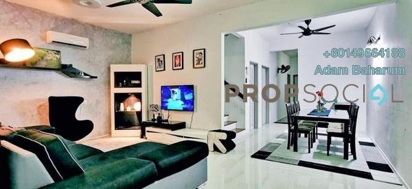 Terrace For Rent in Desa Budiman, Bandar Sungai Long Freehold Fully Furnished 4R/3B 1.7k