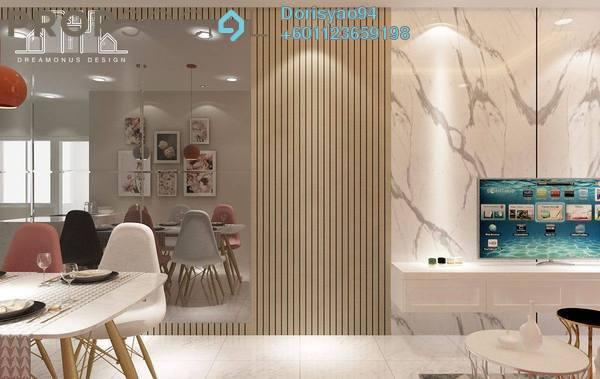 Condominium For Sale in Indah Court, Bandar Sunway Freehold Semi Furnished 3R/3B 433k