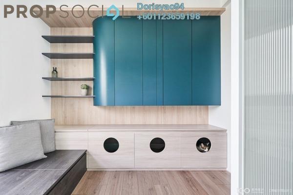 Condominium For Sale in Segar View, Cheras Freehold Semi Furnished 3R/3B 555k