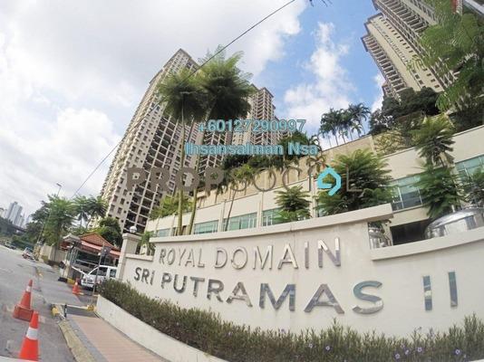 Condominium For Sale in Sri Putramas II, Dutamas Freehold Semi Furnished 3R/2B 560k