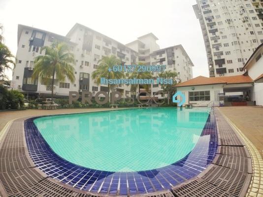 Condominium For Sale in Sri Suajaya, Sentul Freehold Semi Furnished 4R/2B 450k