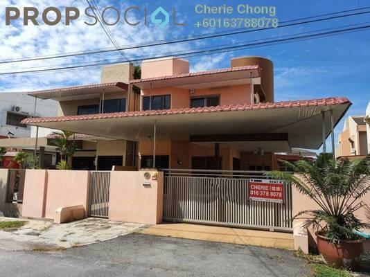 Semi-Detached For Rent in Taman Pengkalan Barat, Ipoh Freehold Semi Furnished 4R/3B 1.6k