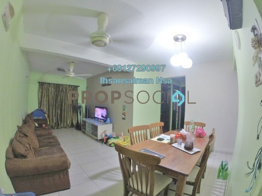 Apartment For Sale in Pantai Indah Apartment, Pantai Freehold Unfurnished 3R/2B 345k