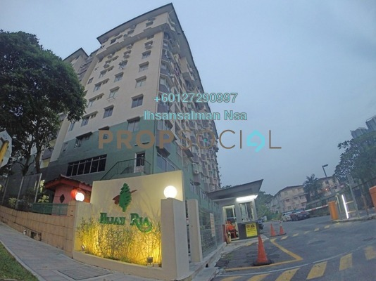 Apartment For Sale in Hijau Ria, Kepong Leasehold Semi Furnished 3R/2B 390k