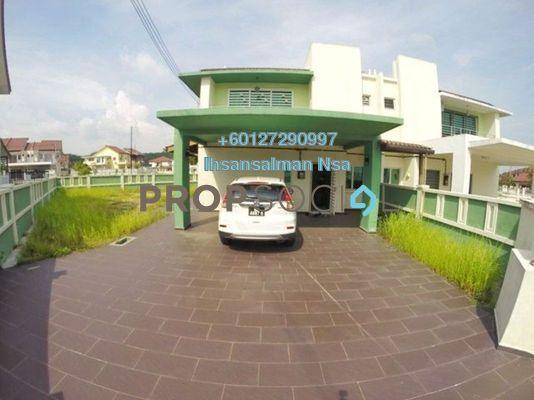 Semi-Detached For Rent in Bandar Puncak Alam, Kuala Selangor Freehold Semi Furnished 5R/4B 1.6k