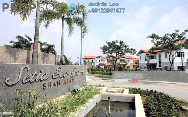 Semi-Detached For Sale in Setia Eco Park, Setia Alam Freehold Unfurnished 5R/5B 1.62m