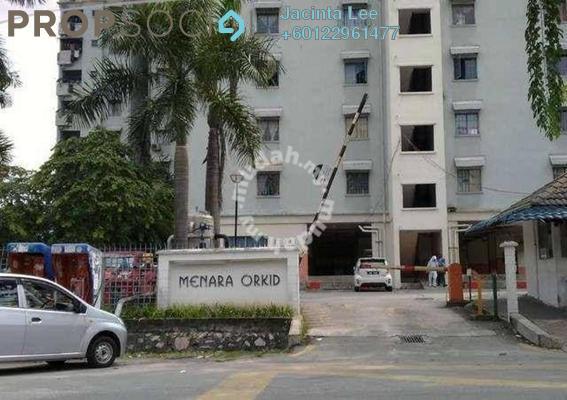 Apartment For Sale in Menara Orkid, Sentul Leasehold Unfurnished 3R/2B 229k
