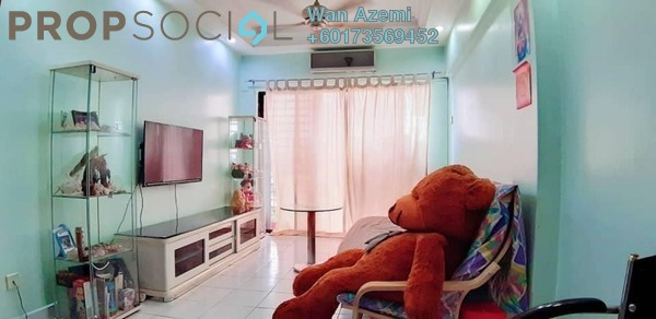 Apartment For Sale in Ixora Apartment, Kepong Freehold Semi Furnished 3R/2B 260k