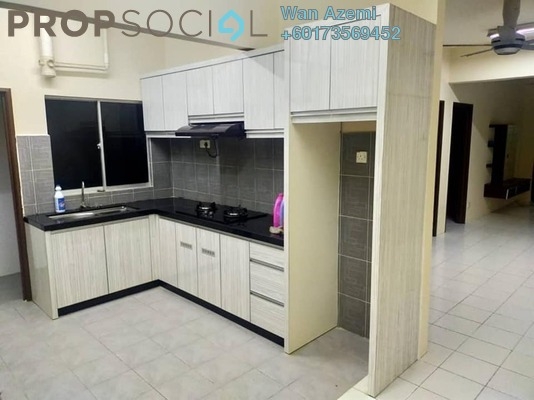 Apartment For Sale in Ixora Apartment, Kepong Freehold Semi Furnished 3R/2B 290k