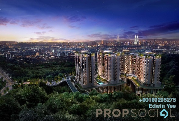 Condominium For Sale in Brezza One Residency, Ampang Jaya Freehold Unfurnished 3R/3B 480k