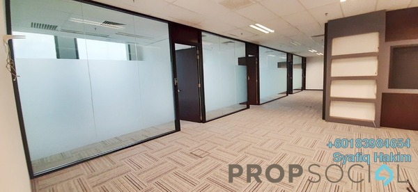 Office For Rent in IOI City Tower, IOI Resort City Freehold Semi Furnished 0R/0B 14.8k