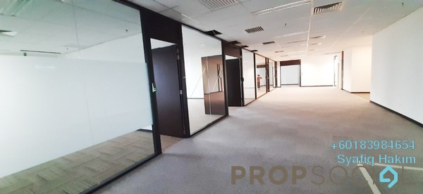 Office For Rent in IOI City Tower, IOI Resort City Freehold Semi Furnished 0R/0B 12.4k