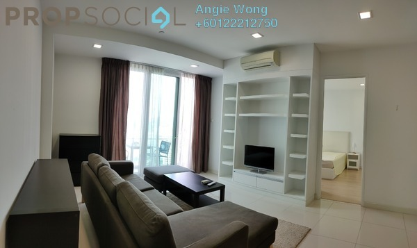 Serviced Residence For Rent in Camellia, Bangsar South Freehold Fully Furnished 2R/1B 2.35k