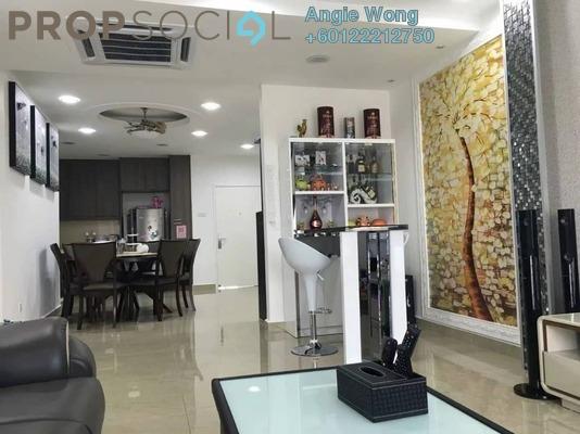 Condominium For Sale in The iResidence, Bandar Mahkota Cheras Freehold Fully Furnished 4R/2B 480k