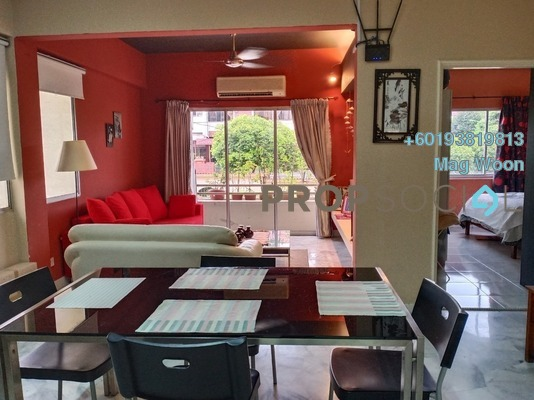Condominium For Sale in Faber Indah, Taman Desa Freehold Fully Furnished 2R/1B 450k