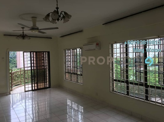 Condominium For Sale in Abadi Villa, Taman Desa Freehold Semi Furnished 3R/2B 430k
