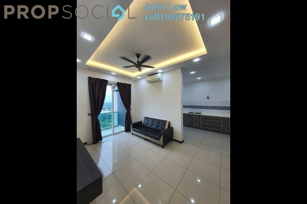 Apartment For Rent in D'Carlton Seaview Residences, Masai Freehold Fully Furnished 2R/3B 1.35k
