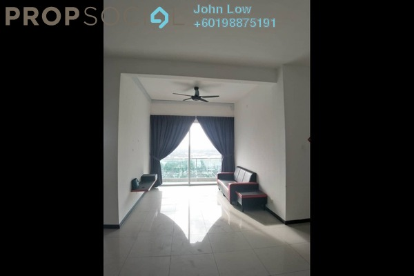 Apartment For Rent in D'Carlton Seaview Residences, Masai Freehold Semi Furnished 2R/3B 1.5k