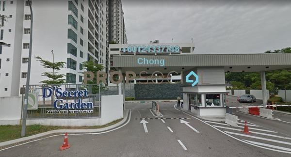 Condominium For Sale in D'Secret Garden, Johor Bahru Freehold Unfurnished 3R/3B 343k